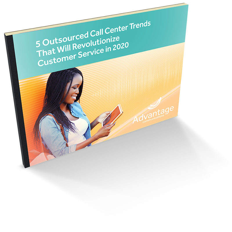 2020 Contact Center Trends eBook Cover
