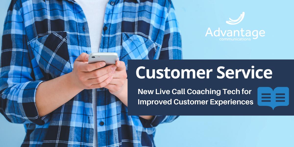 Live Call Coaching Tech for Customer Service