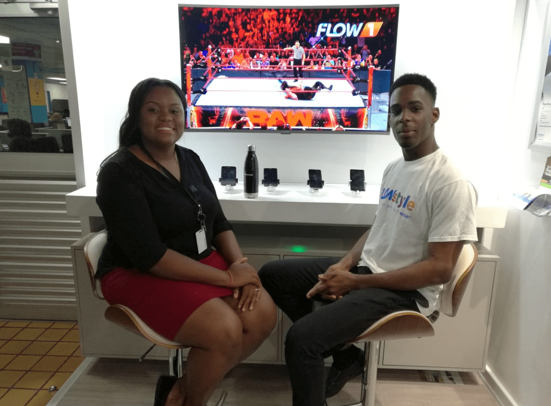 Agents Relaxing in the FLOW Experience Center