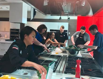 Team Cooking with Miele