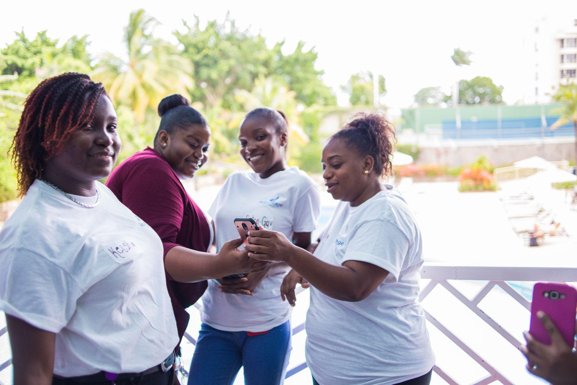 Smile for the Camera - ACI Townhall Jamaica